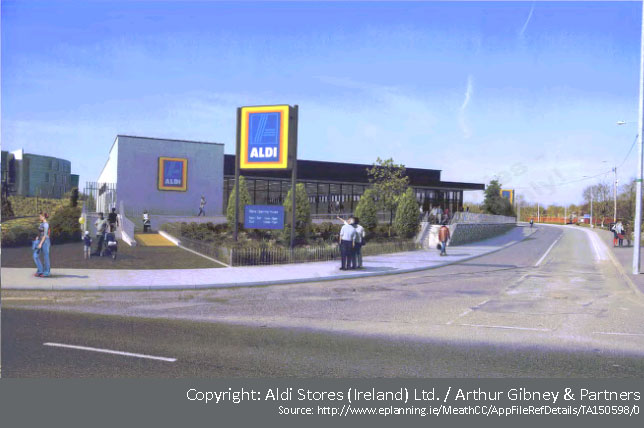 Proposed Aldi Store for Trim.