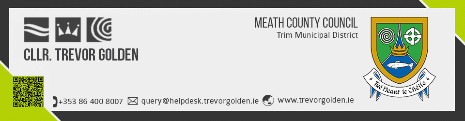 Cllr. Trevor Golden (Ind) – Meath County Council
