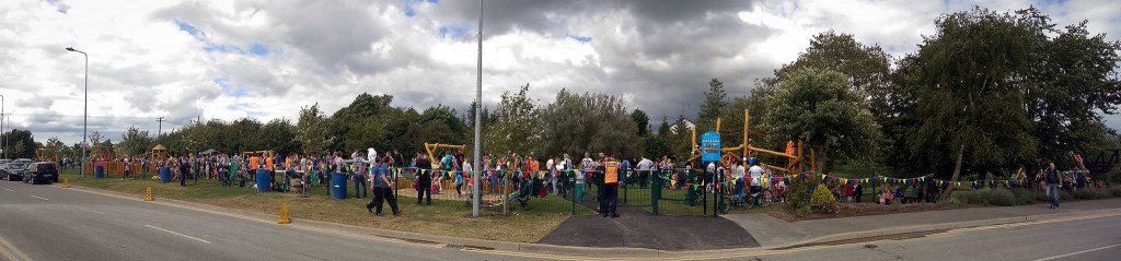 Trim Playground Re-opens